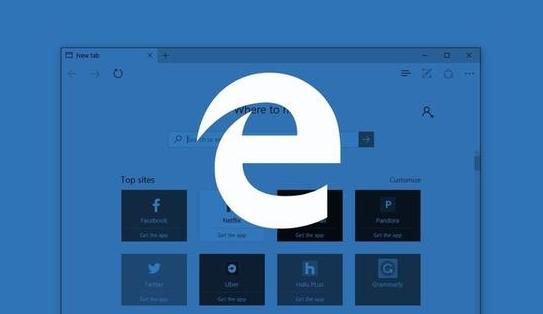 微软win10更新后edge浏览器只增长了0.01%